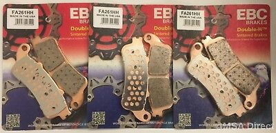 Honda XL1000 Varadero (1999 to 2006) EBC Sintered FRONT and REAR Disc Brake Pads