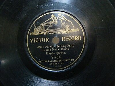 Victor 7 inch Disc Record #2456