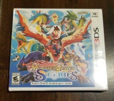 Monster Hunter Stories (Nintendo 3DS) **NEW FACTORY SEALED**  FREE SHIPPING