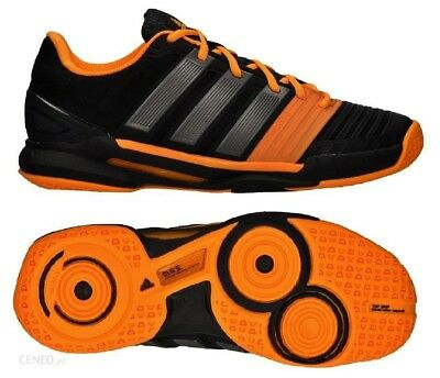 uk availability 9ab16 d2ed4 NEW Adidas adiPower Stabil 11 Mens Athletic Shoes, BlackOrange, M22762,  Size
