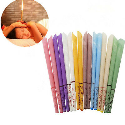 Earwax Candles Wax Hollow Blend Cones Beeswax Ear Cleaning Hearing Spy Massage P
