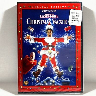 National Lampoon's: Christmas Vacation (DVD, 1989, Widescreen) NEW ! Chevy Chase