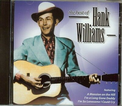 Hank Williams - The Best Of - Cd - New