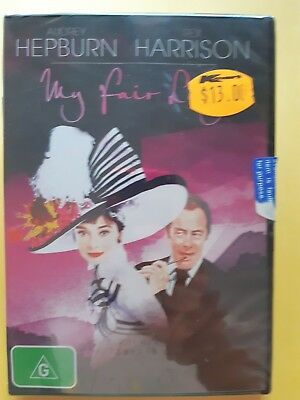 My Fair Lady [ Region 4 DVD ] BRAND NEW & SEALED, Free Next Day Post from NSW