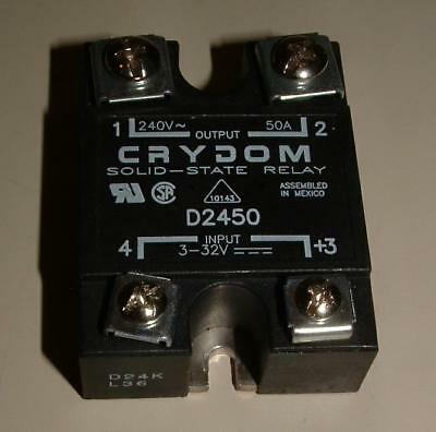 Crydom D2450 Solid State Relay 240 VAC, 50 AMps