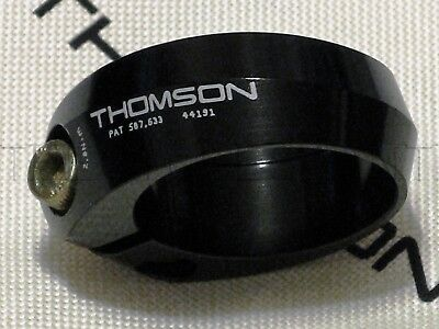 NEW Thomson Bicycle/Bike Seatpost Collar Clamp - 34.9mm Black - Made in the USA