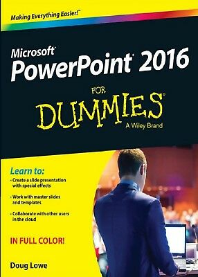 Microsoft PowerPoint 2016 For Dummies In PDF High Quality... Read Description