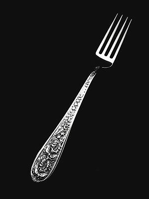 """🍴 Stieff Sterling Silver Corsage Dinner or Luncheon Fork - 7"""" 👍"""