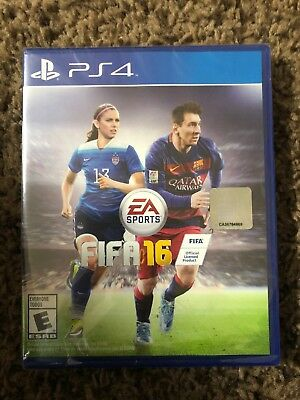 FIFA 16 - Standard Edition - PS4 (Sony PlayStation 4, 2015) NEW Factory Sealed