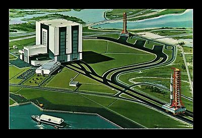 Dr Jim Stamps Us John Kennedy Space Center Nasa Florida View Postcard