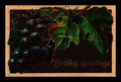 Dr Jim Stamps Us Grapes Birthday Greetings Topical Greetings Postcard