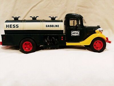 Vintage 1983 The First Hess Truck Gasoline Tanker Bank Truck