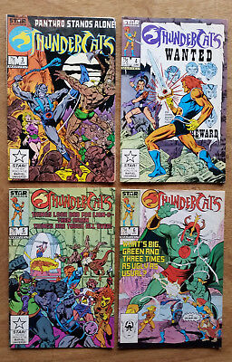 Lot of 4 Comics: Marvel ThunderCats # 3, 4, 5, and 6