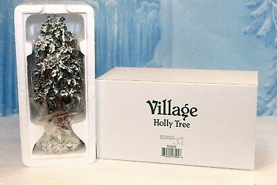 """Department 56 Accessories """"Holly Tree"""" NEW"""