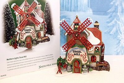 "Department 56 North Pole  ""Northern Light Tinsel Mill"""