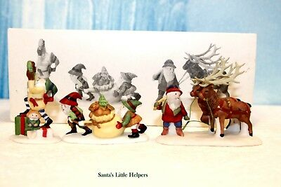 "Department 56 North Pole ""Santa's Little Helpers - Set of 3"""