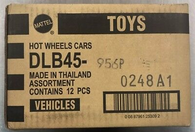 Hot Wheels 2018 Pop Culture Dc Comics Factory Sealed Case Dlb45- 956P 12 Ct. Rr