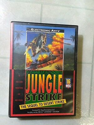 Jungle Strike 16 bit MD Game Card For Sega Mega Drive For Genesis