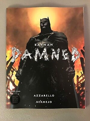BATMAN DAMNED 2; VARIANT Brian Azzarello Lee Bermejo DC BLACK LABEL 1st Print