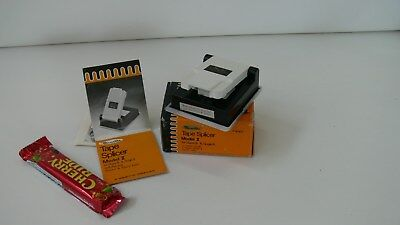 Vintage Minette Super 8 single 8 Tape Splicer in Box with Instructions
