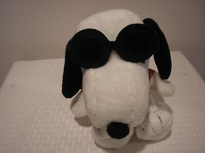 Snoopy Joe Cool Plush Doll Hallmark Peanuts Sunglasses Red Shirt