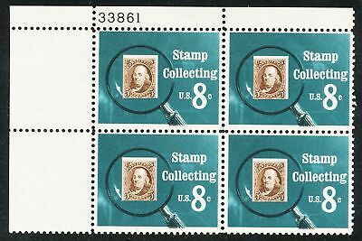 Dr Jim Stamps Us Scott 1474 Stamp Collecting 1972 Plate Block Og Nh Wrinkled