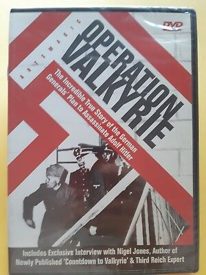 Operation Valkyrie - True Story [ DVD ] Multi Region,BRAND NEW & SEALED,FreePost