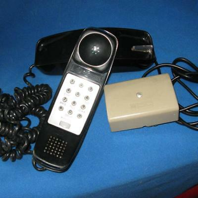 Early Western Electric Trimline Desk Touchtone Telephone in Black