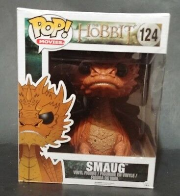 """Smaug 6"""" Funko Pop The Hobbit #124 Lord of the Rings LOTR 2014"""
