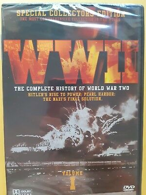 WW2 The Complete History Of WW 2 Vol. 1 [ DVD ] Multi Region, BRAND NEW & SEALED