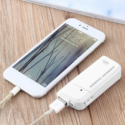 Portable AA External Battery USB Charger For MP3 Player for iPod for iPhone A1