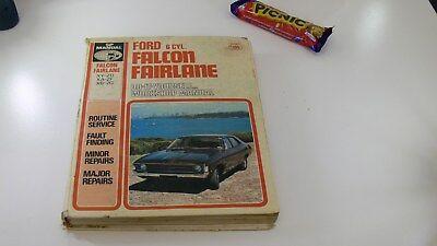 Ford Falcon Fairlane Workshop Manual