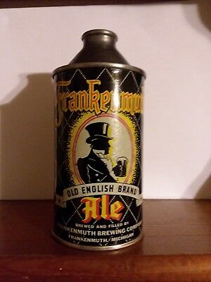 12 oz Frankenmuth cone top beer can