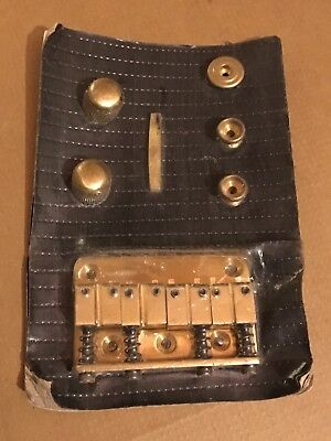 Double Eagle Brass Bass Parts Kit NOS 80s