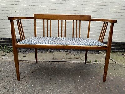 Lovely Edwardian Inlaid Parlour Settee
