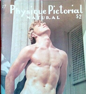 Physique Pictorial Natural 17 vintage gay interest magazine short supply