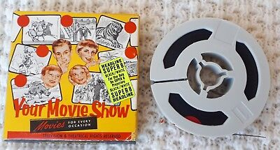 Vintage 8mm Film, Top Cat and His Gang – Movie, Collectable, Cartoons