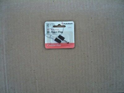 RadioShack 274-1567 Size K Coaxial DC Power Plug (Pkg of 2)