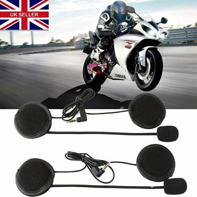 Hot V4/V6 Wired Motorcycle Bluetooth Helmet Intercom Headset Speaker with Mic A1