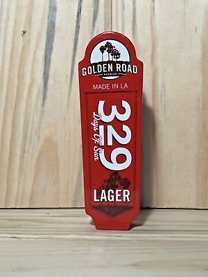 """Golden Road 329 Days Of Sun Lager Shorty Tap Handle (5"""")"""