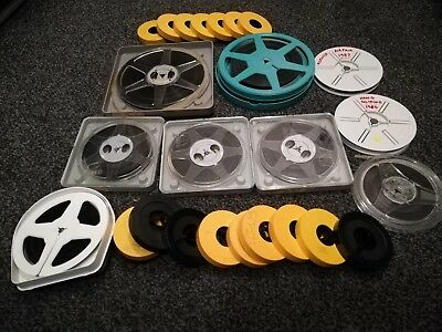 box of 26 8mm home movies, 1960s to 1980s