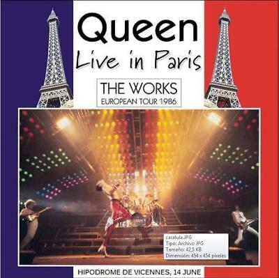 Queen - Hipodrome De Vicennes, Paris - Live European Tour 1986