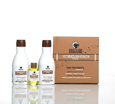 Brazilian Keratin Supreme Treatment - Formaldehyde Free. Perfect Personal KIT