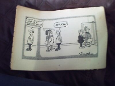 Six Pages from Early Andy Capp Annual,.