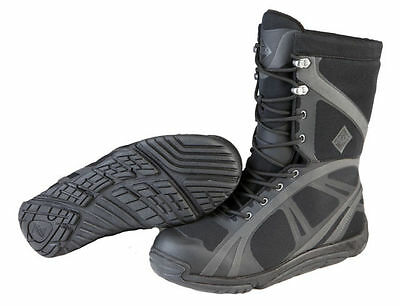 Men's Muck Boot Company® Pursuit Shadow Mid Lace-Up Waterproof Black Boots Sz 7