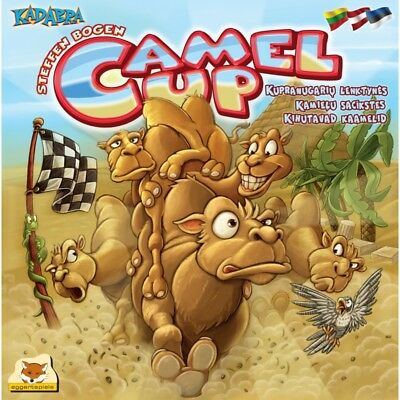 Camel Up Fun Family Racing Easy Board Game Dice Rolling Egypt Roll
