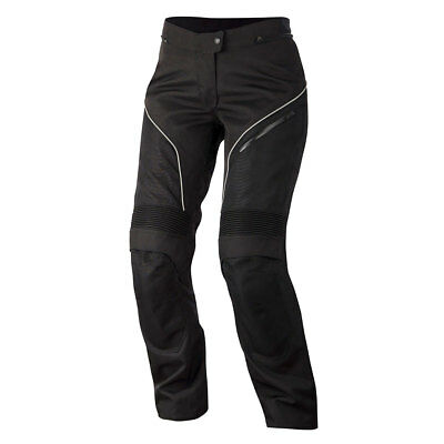 Alpinestars Stella AST-1 Ladies Textile Motorcycle Trousers Black / White
