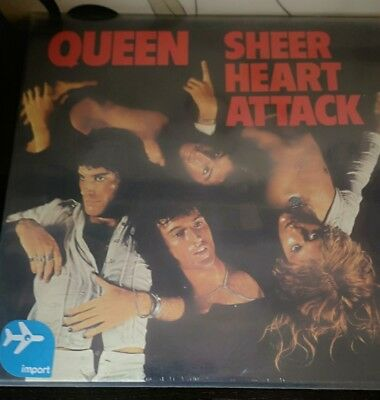 Queen - Sheer heart attack - 1974 - 2009 - Hollywood records - USA - LP - Album