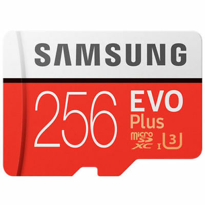 NEW 256GB EVO Plus MicroSD SDXC TF Memory Card Evo+ 100M/s Class 10 U3 UHS-I