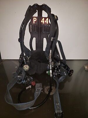 Survivair PANTHER COUGAR LO-PRO TANK HARNESS SCBA Back Pack